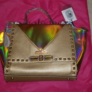 Gold Sian Hologram Purse